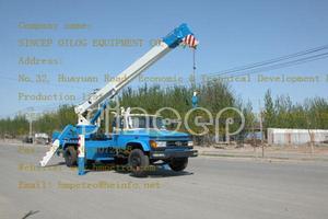 LHM5170TCS型测试井架车 – 解放 6*4(国三)